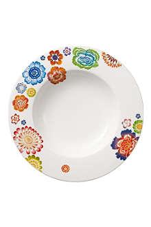 VILLEROY & BOCH Anmut Bloom deep plate 24cm
