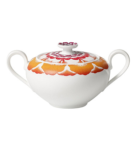 VILLEROY & BOCH Anmut Bloom sugar pot