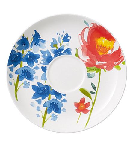 VILLEROY & BOCH Anmut flowers breakfast saucer