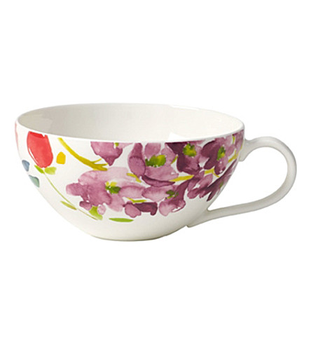 VILLEROY & BOCH Anmut flowers tea cup