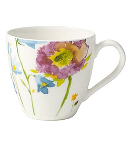VILLEROY & BOCH Anmut flowers espresso cup