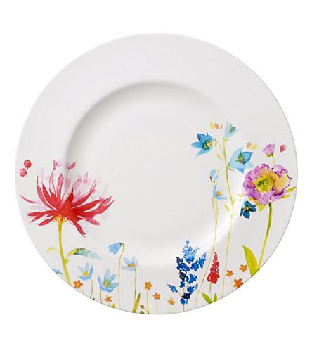 VILLEROY & BOCH Anmut flowers flat plate