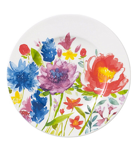 VILLEROY & BOCH Anmut Flowers bread and butter plate 16cm