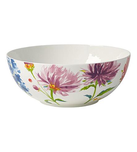 VILLEROY & BOCH Anmut Flowers salad bowl 21cm