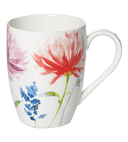 VILLEROY & BOCH Anmut Flowers mug