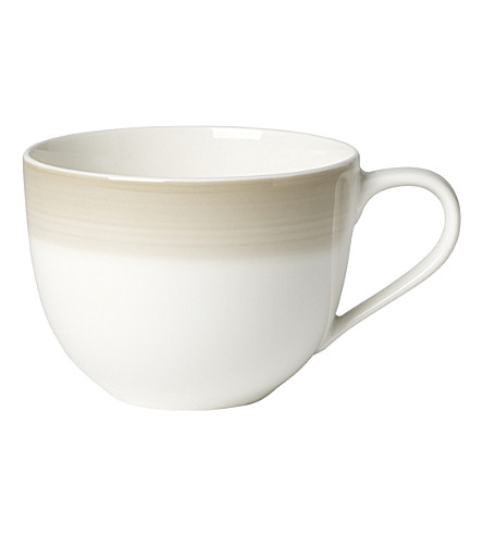 VILLEROY & BOCH Colourful life natural cotton porcelain coffee cup (Multi+coloured