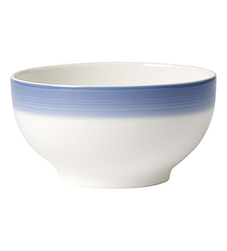VILLEROY & BOCH Colourful Life porcelain French bowl (Multi+coloured