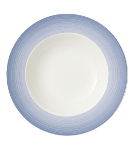 VILLEROY & BOCH Colourful Life porcelain deep plate (Multi+coloured