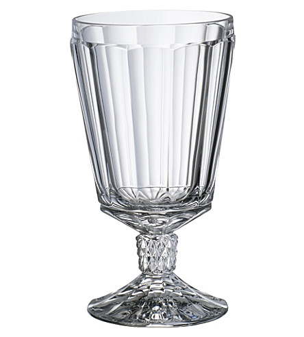 VILLEROY & BOCH Charleston red wine goblet