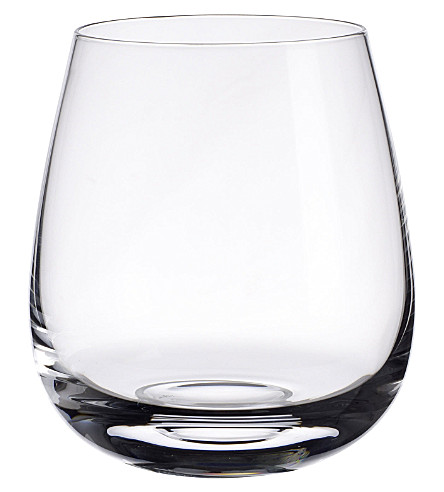 VILLEROY & BOCH Scotch Whisky single grain crystal whisky glass