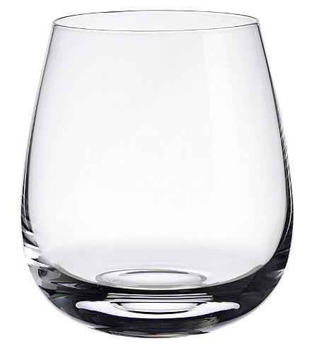 VILLEROY & BOCH 苏格兰威士忌单颗磨粒水晶威士忌酒杯