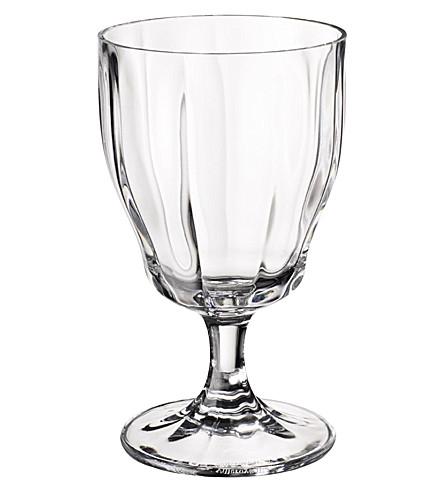 Villeroy boch farmhouse touch crystal water goblet for Villeroy boch crystal