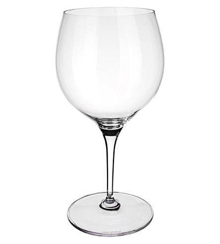 VILLEROY & BOCH Maxima Burgundy red wine goblet
