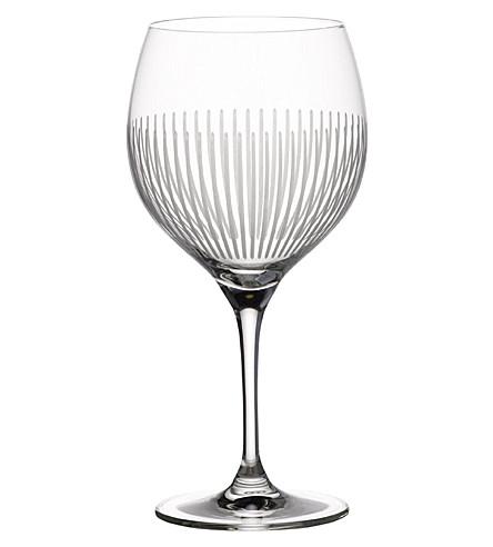 VILLEROY & BOCH Maxima Burgundy goblet