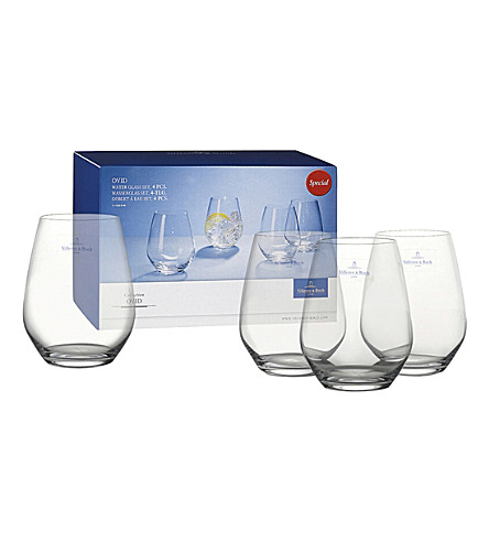 VILLEROY & BOCH Ovid water glass set