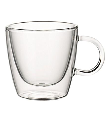 VILLEROY & BOCH Artesano 中等玻璃杯子 8 厘米