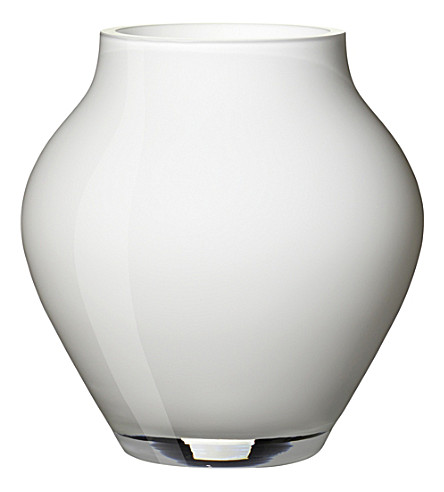 VILLEROY & BOCH Oronda glass mini vase (White