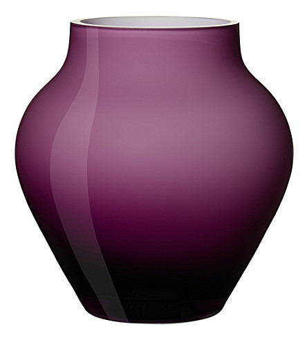 VILLEROY & BOCH Oronda glass mini vase (Purple