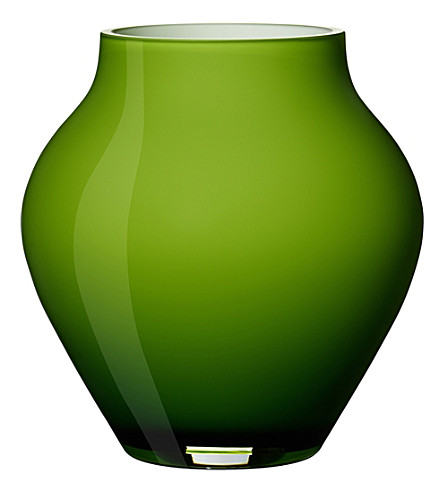 VILLEROY & BOCH Oronda mini glass vase (Green