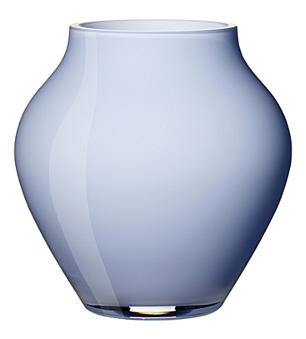 VILLEROY & BOCH Oronda mini glass vase (Blue