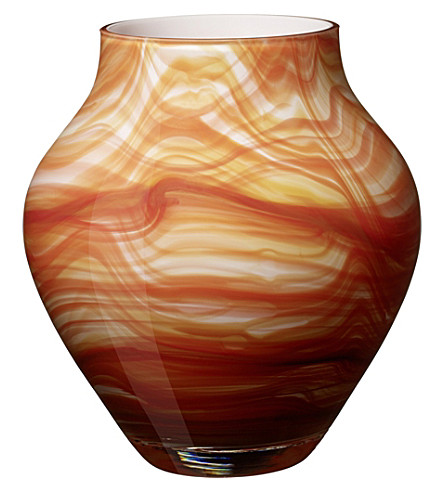 VILLEROY & BOCH Oronda fire glass vase (Multi+coloured