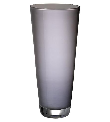 VILLEROY & BOCH Verso large Pure Stone vase (Grey