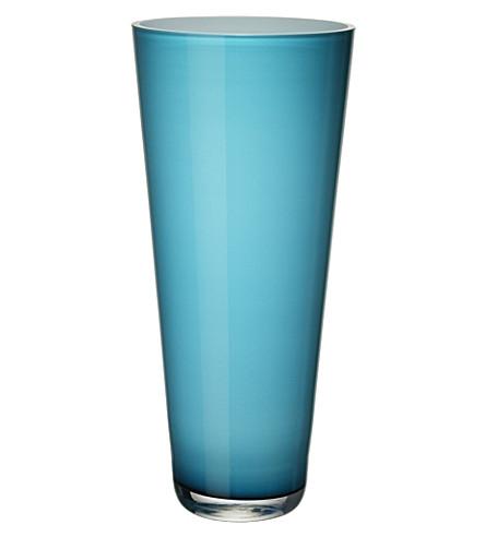 VILLEROY & BOCH Verso large Caribbean Sea vase (Blue