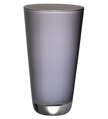 VILLEROY & BOCH Verso small Pure Stone vase (Grey