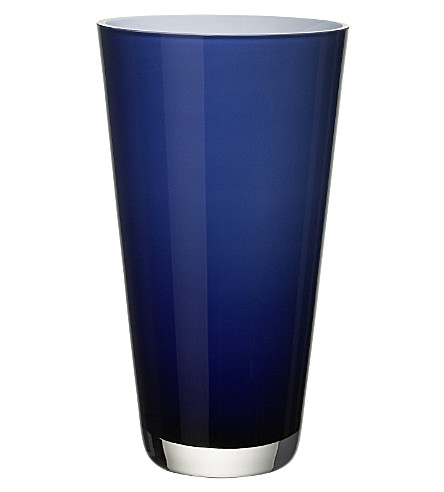 VILLEROY & BOCH Verso small Midnight Sky vase (Blue