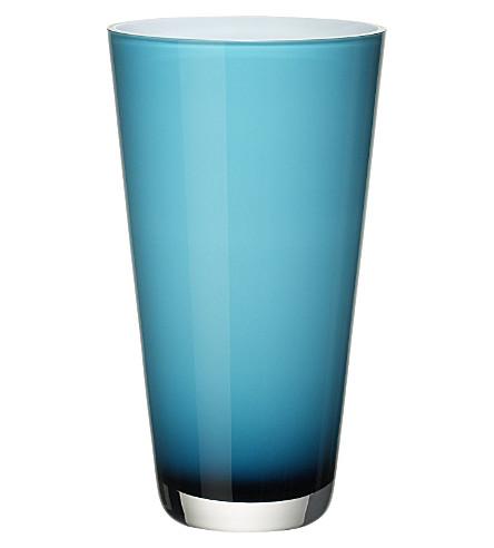 VILLEROY & BOCH Verso small Caribbean Sea vase (Blue