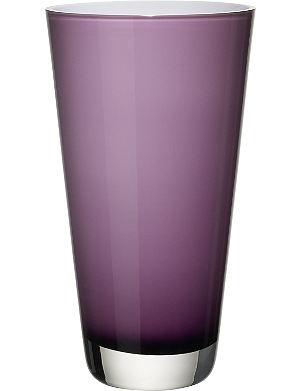 VILLEROY & BOCH Verso small Soft Raspberry vase