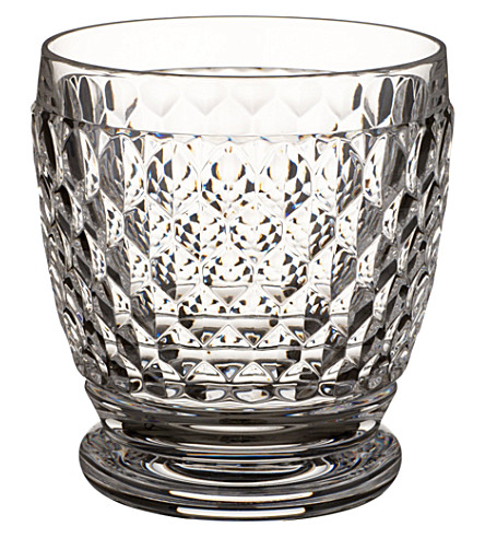 VILLEROY & BOCH Boston crystal tumbler 100mm. 0.33l