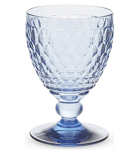 VILLEROY & BOCH 波士顿彩色红色葡萄酒杯