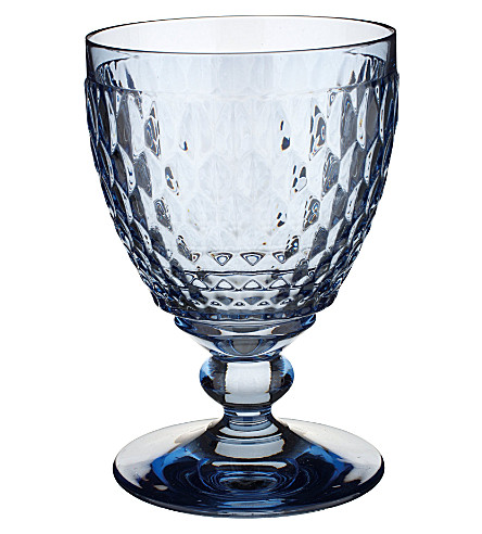 VILLEROY & BOCH Boston crystal water goblet