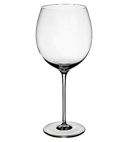 VILLEROY & BOCH Allegorie Premium Burgundy goblet