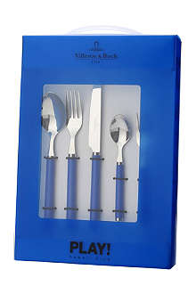 VILLEROY & BOCH Play! 30-piece cutlery set