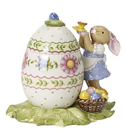 VILLEROY & BOCH Bunny family egg box with decorating bunny