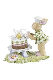VILLEROY & BOCH Boy bunny with cake ornament