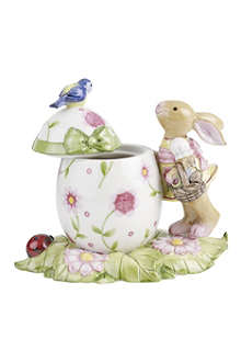 VILLEROY & BOCH Girl bunny Easter box decoration