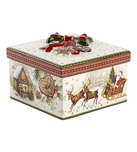VILLEROY & BOCH Christmas toys gift box porcelain ornament