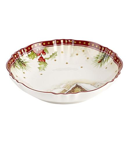 VILLEROY & BOCH Fantasy porcelain bowl