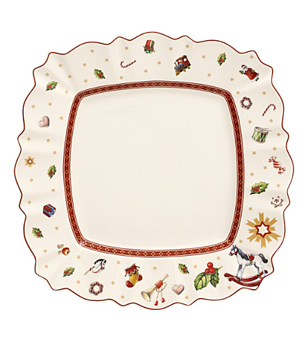 VILLEROY & BOCH Toy's delight Christmas porcelain plate