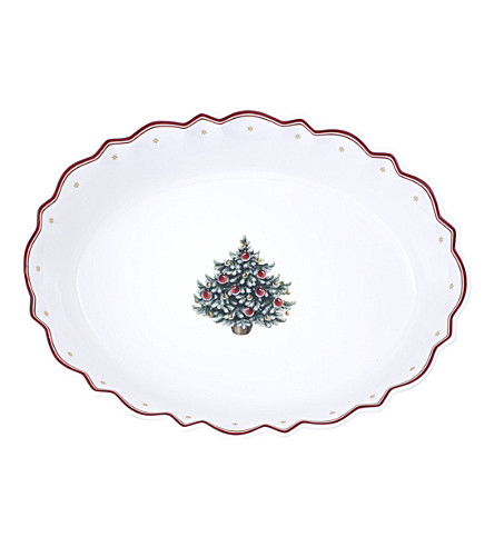 VILLEROY & BOCH Toy's Delight oval bowl 33cm