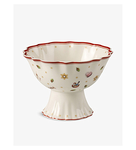 VILLEROY & BOCH Toy's Delight porcelain footed serving bowl 15cm