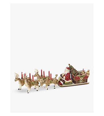 VILLEROY & BOCH Santa's Sleigh candle holder