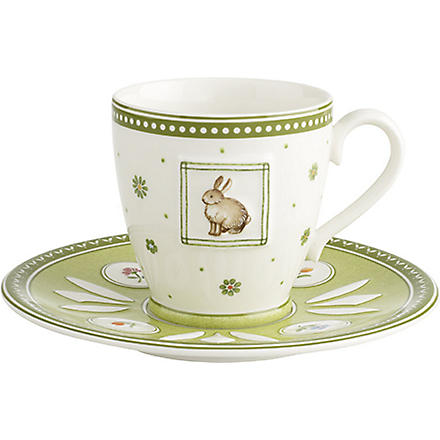 VILLEROY & BOCH Farmers Spring coffee cup & saucer set
