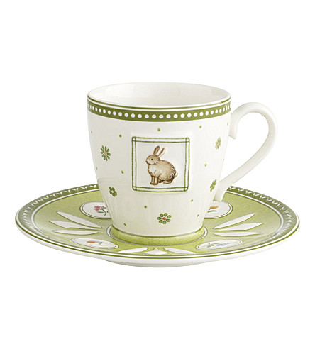 VILLEROY & BOCH Farmers Spring coffee cup & saucer set