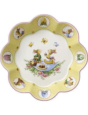 VILLEROY & BOCH Large picnic bunny bowl