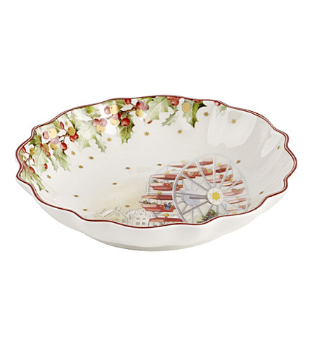 VILLEROY & BOCH Christmas porcelain bowl small