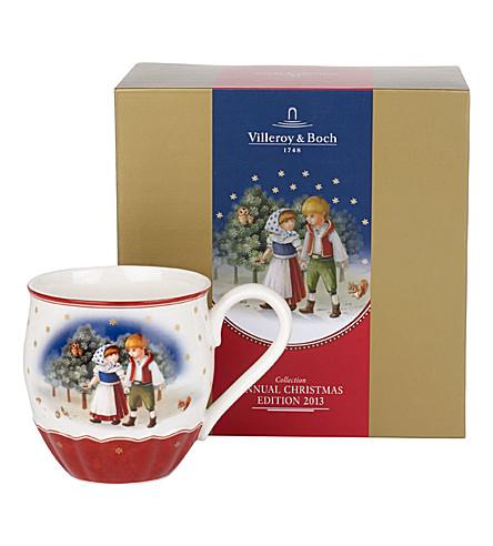 Villeroy boch annual christmas edition 2013 mug for Villeroy boch christmas